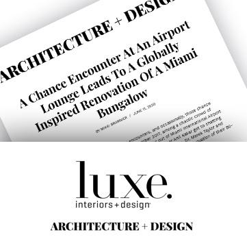 ARCHITECTURE DESIGN 2020